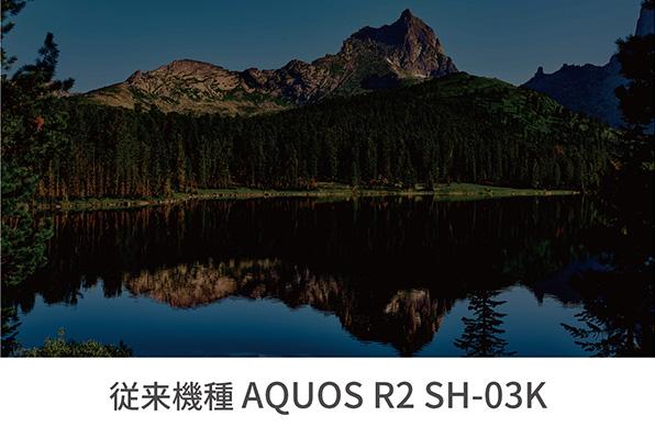 AQUOS R2 ディスプレイ スペック