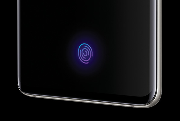 Galaxy S10/S10+ 指紋認証センサー