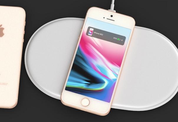 iPhoneSE2 ワイヤレス充電